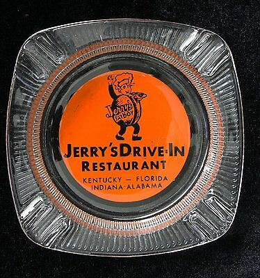 Vintage Jerry's Fat Boy Drive- In Ashtray