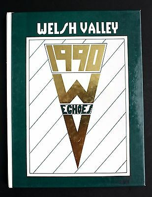 Welsh Valley Middle School 1990 Yearbook Year Book, Narberth PA Echoes 90