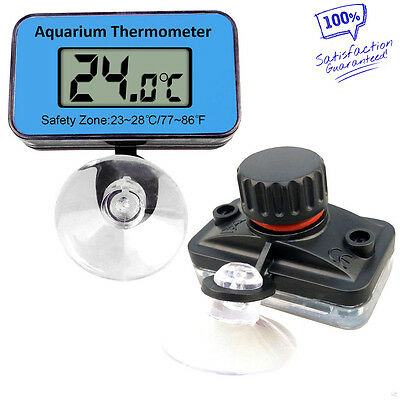 New Digital Submersible Fish Tank Aquarium LCD Thermometer Temperature Meter