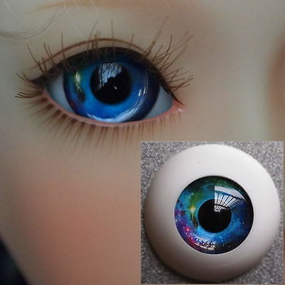 #HMC4 - Acrylic Eyes for BJD Doll 12 14 16mm 18 20 22 SD13/10 Dollfie Green