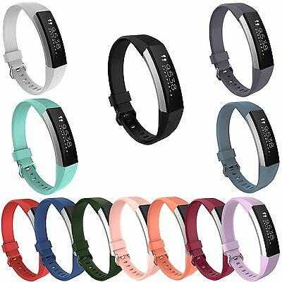 Hot Silicone Wristband Wrist Band Strap Bracelet For Fitbit Alta HR Tracker S/L