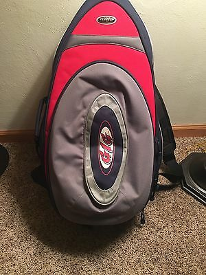 "GIG brand Sax Saxophone Back Pack Case Oval Shape 26"" Tall"