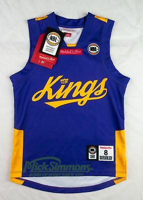 NEW Sydney Kings 2017 Kid's Home Jersey by Mitchell & Ness