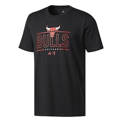 NEW Chicago Bulls NBA GFX Graphic T-Shirt by adidas
