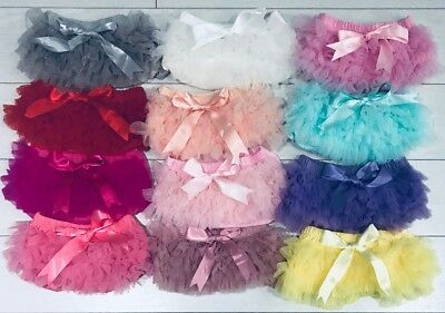 Baby Girls Frilly Tutu Knickers 1st Birthday Cake Smash Prop Summer Christening