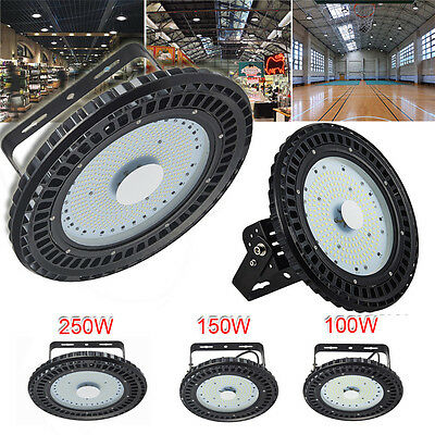 UFO LED High Bay Lights 100W 150W 250W  Warehouse Industrial Factory Light Lamp
