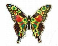 GOLD-CC52071-Clark Collection CC52071 Large Multi Colored Butterfly Door Screen