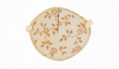 Medical Eye Patch, BEIGE FLOWERS , Soft & Washable, Sold to the NHS