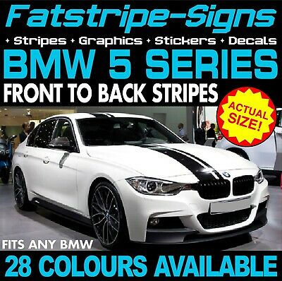 BMW 5 SERIES STRIPES GRAPHICS STICKERS DECALS M5 GT M SPORT SALOON TOURING 520d