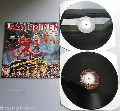 "Iron Maiden - Run To The Hills UK EMI 1990 2 x 12"" First Ten Years"