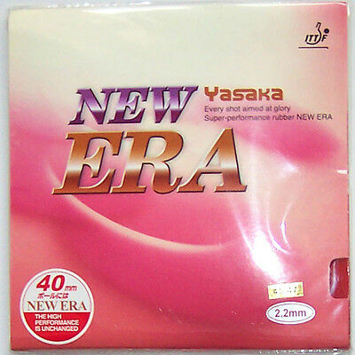 Yasaka NEW ERA Table Tennis Rubber with Sponge, 45-47 degree, New, Melbourne