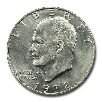 1972 TYPE 3 Eisenhower Dollar $1 NGC MS66