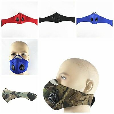 PM 2.5 Gas Protection Filter Protection Head Cycling Respirator Dust Mask Head