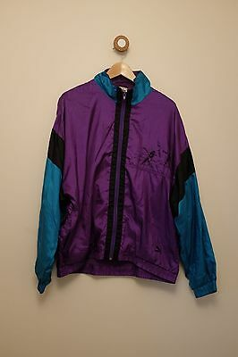 Vintage 80s/90s PUMA shell suit jacket