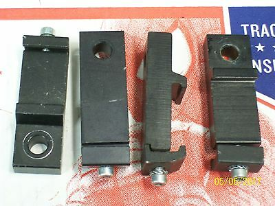 Lot Of 4 Light Curtain Mounting Brackets T-Slot From Allen Bradley / Cedes