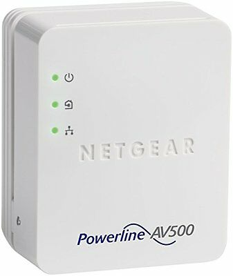 HOMEPLUG NETGEAR 500 Mbps POWERLINE ADAPTER  WIRELESS ETHERNET KIT
