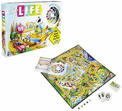 The Game Of Life Family Fun Board Game Money Win Play Brand New Sealed