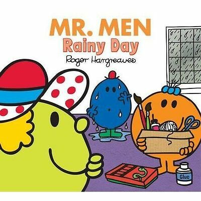 NEW  MR MEN - a RAINY DAY  (BUY 5 GET 1 FREE book ) Little Miss