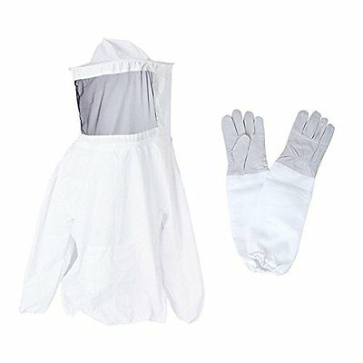 Bee Top + gloves Beekeeping suit sheepskin F5Y6