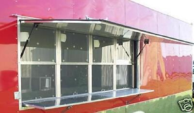 Concession Window - Trailer / Food Truck - Serving Window Eight Foot