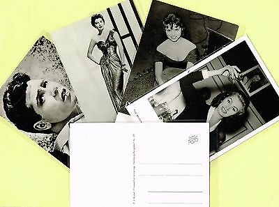 1950s Film Star Postcards issued by Rudel Verlag, Germany