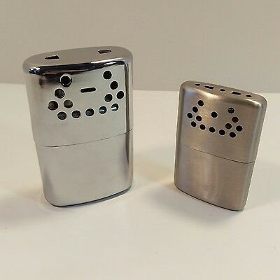 Lot of 2 Jon-e G. I. Hand Warmers Vintage Orbex Made in USA