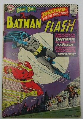 Brave and the Bold #67 Batman and The Flash 1967 Good Vintage Condition