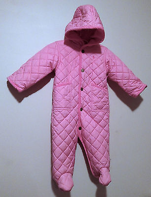 Polo Ralph Lauren Baby 9M 9 Months Bunting Quilted Puffy Snow Suit Infant Winter