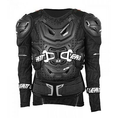 Leatt Body Protector 5.5 Body Armor LargeX-Large 172-184cm Black 5015400101
