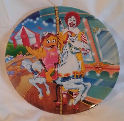 Vintage McDonald's Melamine Plate, Ronald, Birdie 1993 PMC Preowned