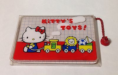 1976  Vintage Sanrio Hello Kitty 3 Fold Pass Case/Card Case *Made in Japan