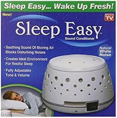 Sleep Easy Sound Conditioner White Noise Machine Baby Infant Calming Therapy New