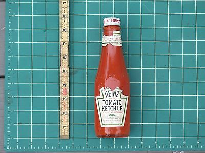 Vintage HEINZ KETCHUP Bottle STORE DISPLAY Prop Original Advertising W/ Lid