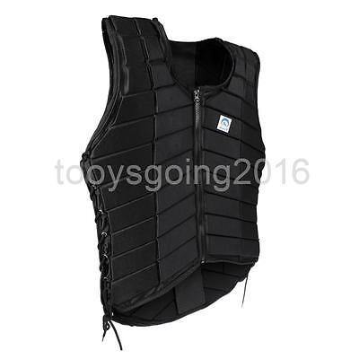 Safety Breathable Equestrian Vest Back Body Guard Protector for Men Size L