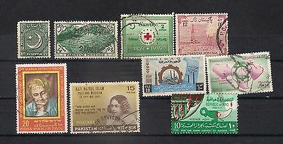 Pakistan Lot Stamps Used - 6/22