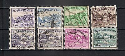 Pakistan 1961  Lot Stamps Used - 6/22