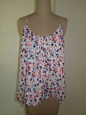Jeanswest Cami, Sunset Print, Size 12, Brand New With Tags! Rrp$39.99