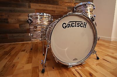 Gretsch Ssb Usa Maple Circa 1970's Name Band Ii Drum Kit Gold Marine (Pre-Loved)