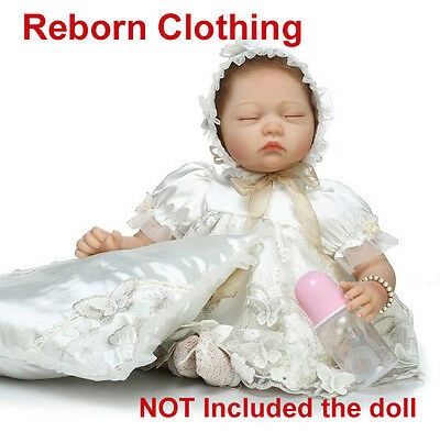 Reborn Clothing Reborn Doll Baby Girl Clothes outfit NOT Included Doll 20-22""