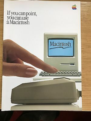 Apple Macintosh Brochure - If You Can Point...