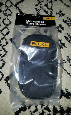 """FLUKE C50 Compact Soft Carrying Case, 7-1/2"""" - Brand New!"""