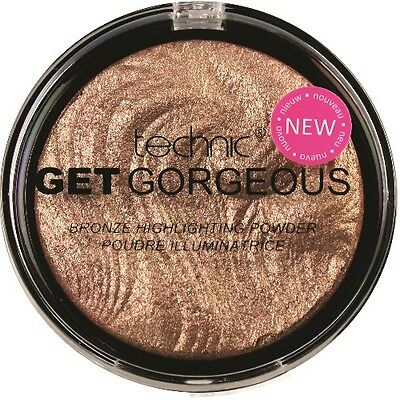 Technic Get Gorgeous Highlighting Illuminating Bronze Powder Highlighter (031)