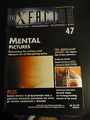 The X Factor Issue 47 Magazine 1998