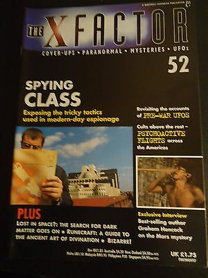 The X Factor Issue 52 Magazine 1998