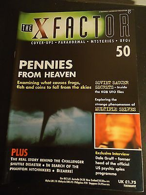 The X Factor Issue 50 Magazine 1998