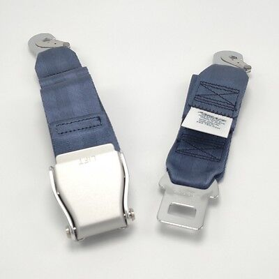 Amsafe airplane / aircraft seat belt assembly