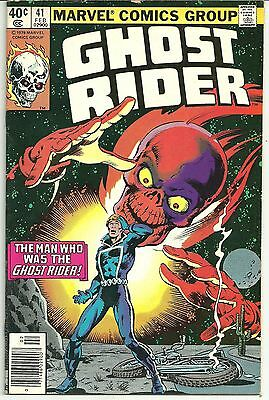 GHOST RIDER # 41 Bronze Age NICE VERY FINE