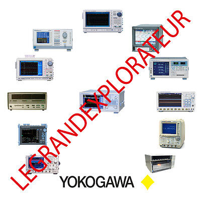 Ultimate Yokogawa  Operation, Repair & Service Manuals   (135 PDF manual on DVD)