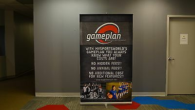 """Skyline 3000R 48"""" Retractable Banner Stand - Used"""