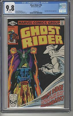 GHOST RIDER #56 CGC 9.8 WHITE Pages